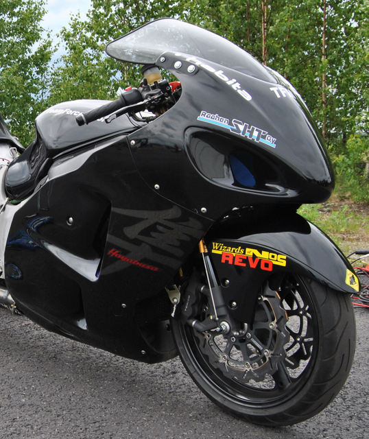 World Record Top Speed Busa using WON REVO Nitrous