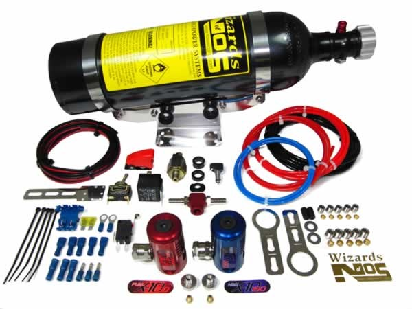 SB150Ti Nitrous Kit Suitable for most Turbo injected engines with a single throttle body