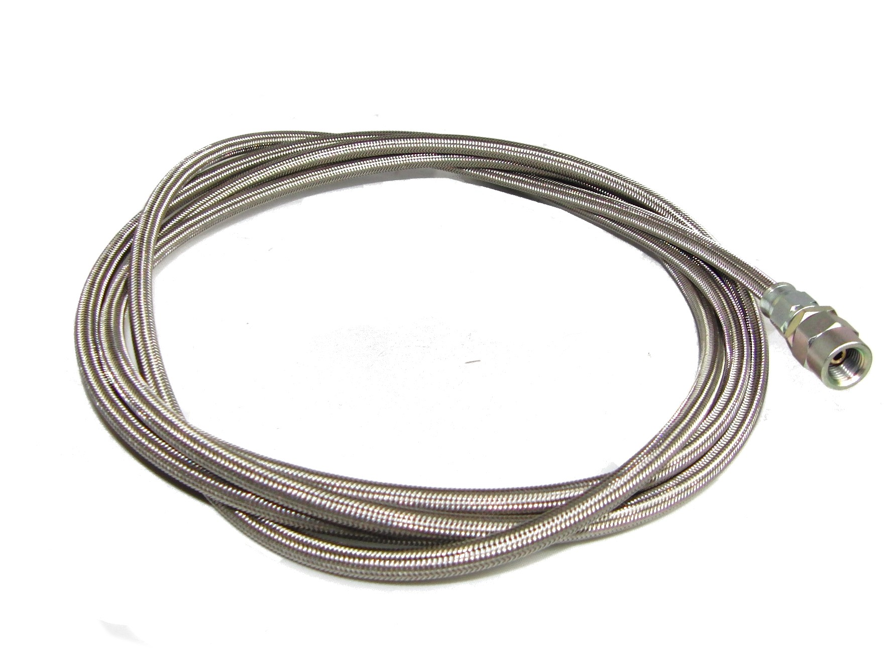 -3 SS Braided hose suitable for nitrous oxide