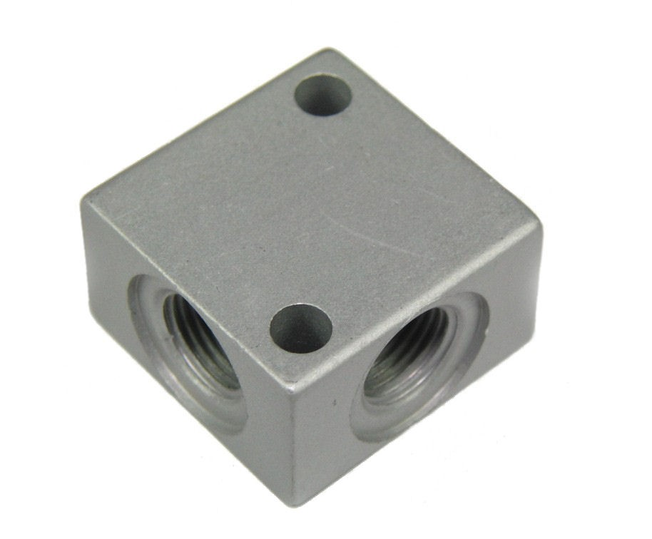 Anodised Alloy Nitrous 4 way block 1/8 BSP (x4)