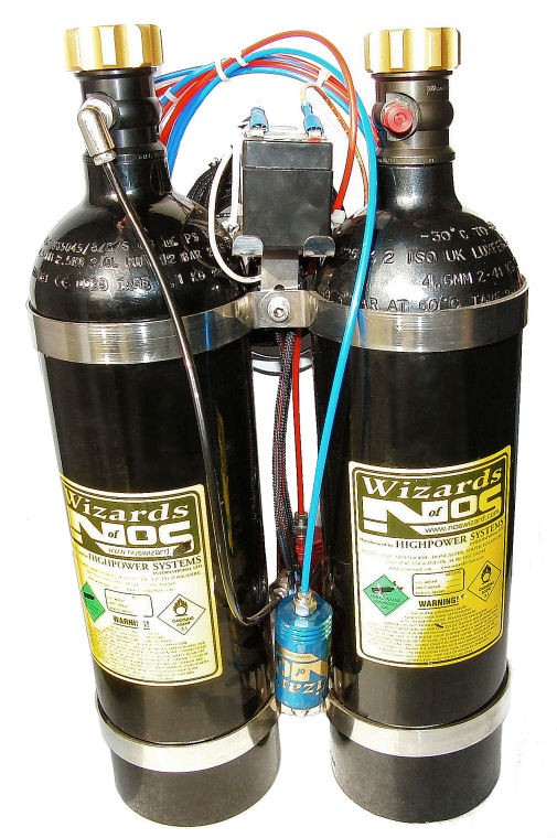Wizards of NOS Demo Nitrous System