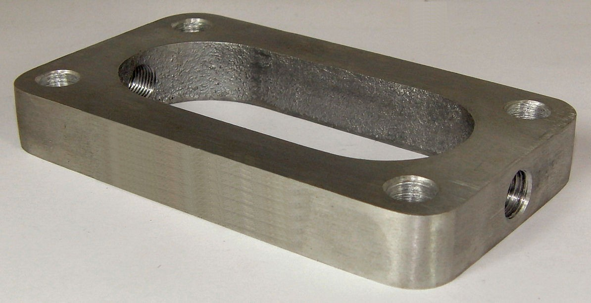 Down Draught Weber Carb Plate
