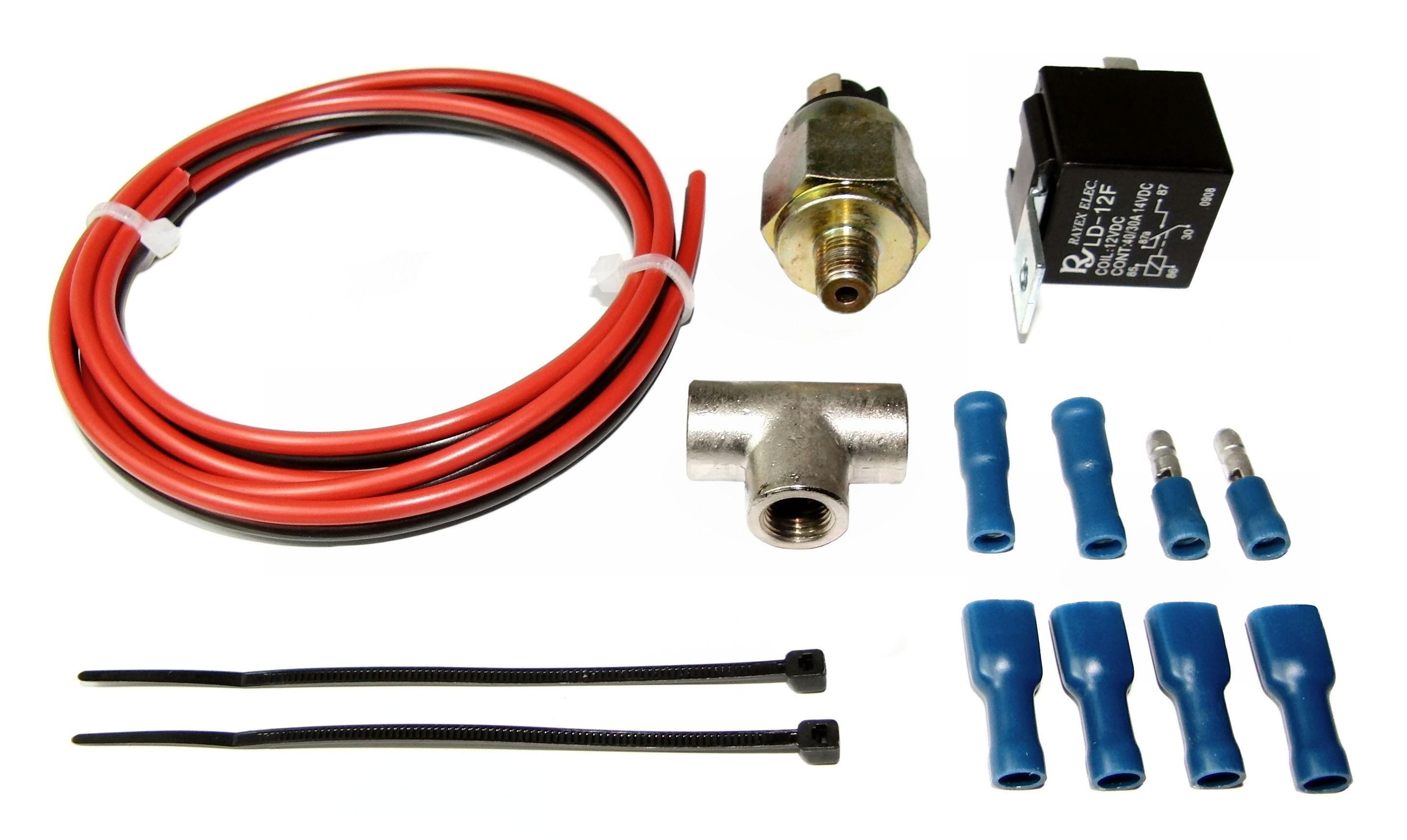 Fuel Pressure Cut-Off System