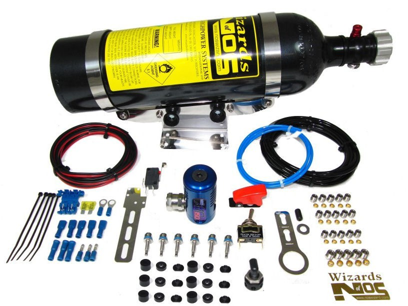 SB150D6 - 6 Cyl Direct Port Diesel Car Nitrous Kit