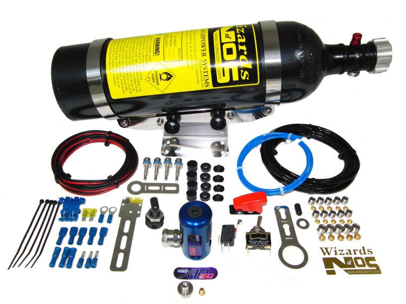 SB150D4 - 4 Cyl Direct Port Dry Car Nitrous Kit