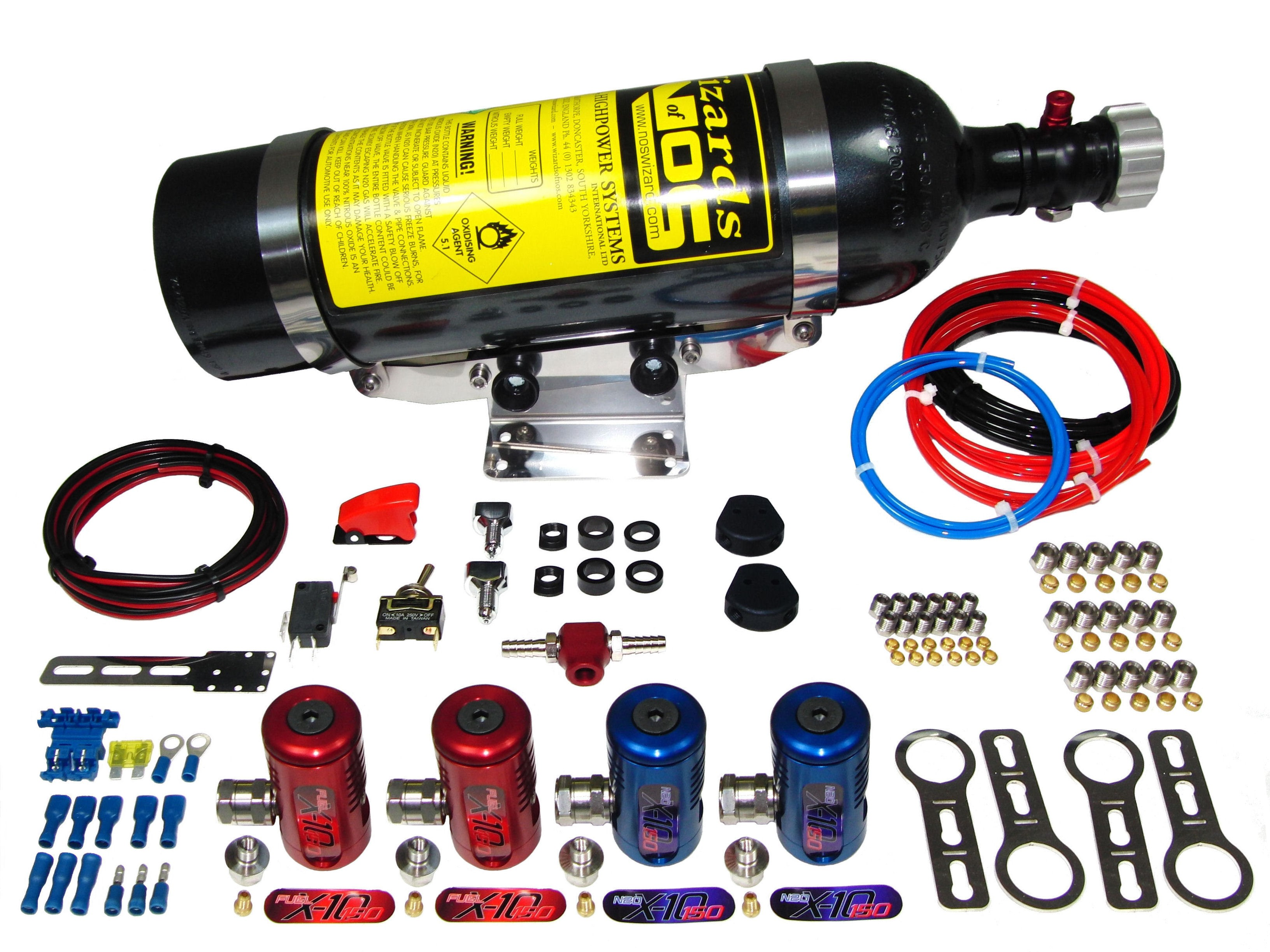 SB150i2 Twin Pr Pulsoid Nitrous Kit