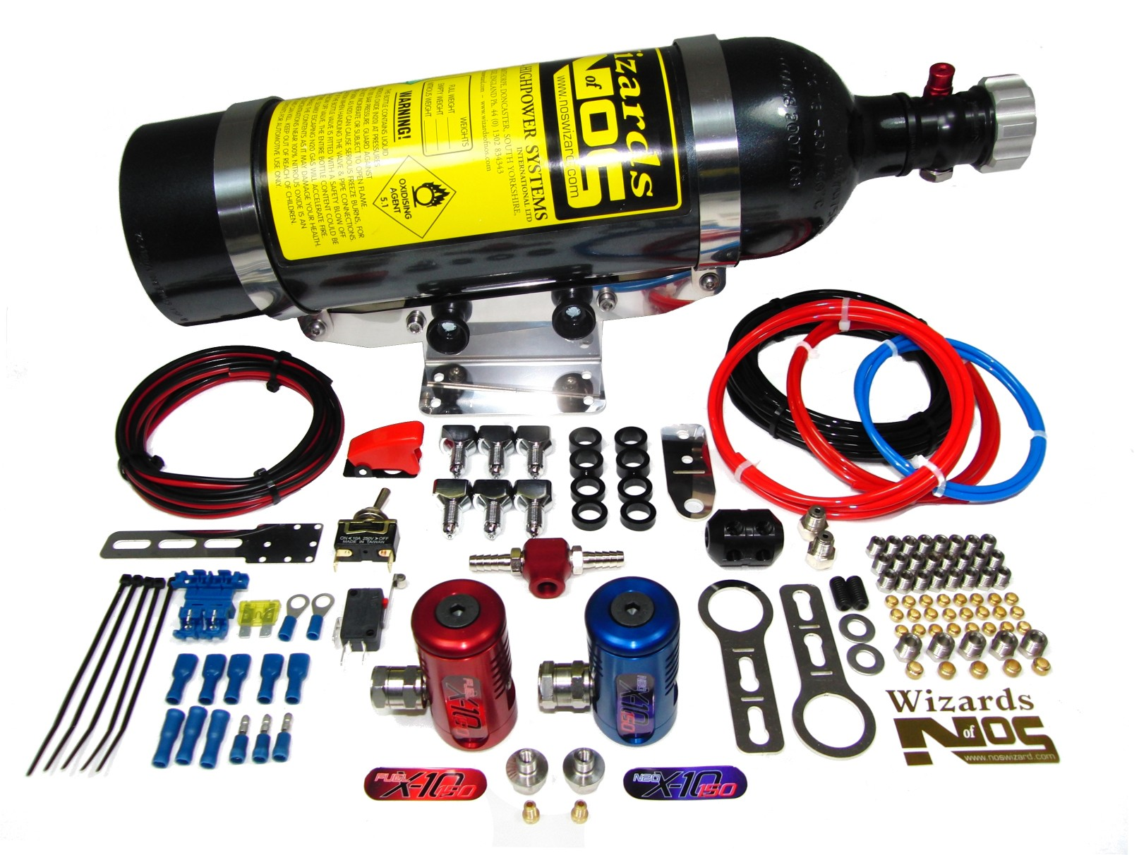SB150iS6 Nitrous Kit Complete