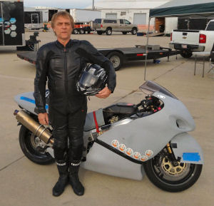 Ransom Holbrook sets new SS mile world record at 238 mph