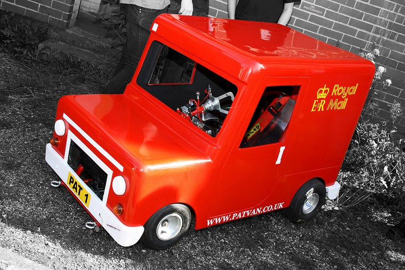 Worlds Fastest Postman Pat Van