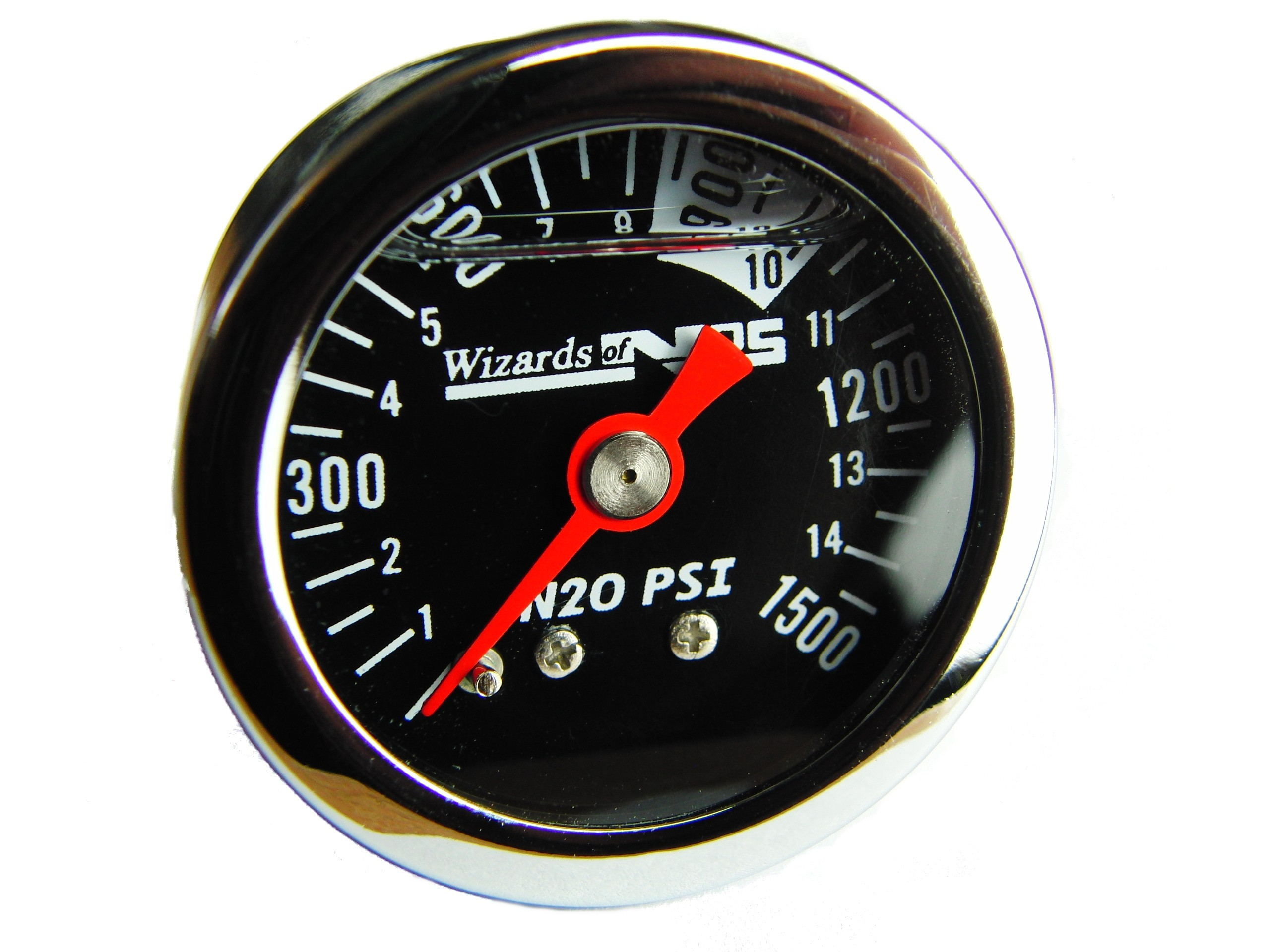 Nitrous Gauge, 40mm Bottle Mount