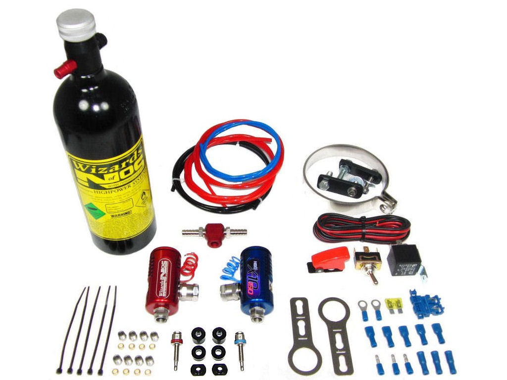 SB25 Single Cylinder Bike Nitrous Kit