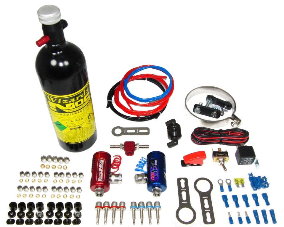 Wizards of NOS SB 25-150/4 direct port bike kit